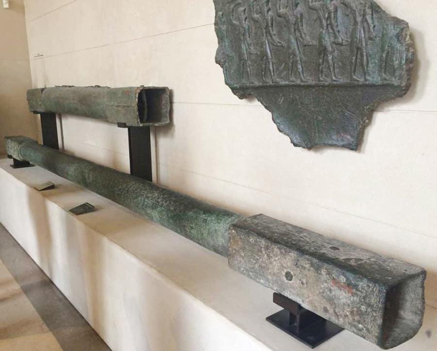 استفاده از مقاطع توخالی در اوایل تمدن ایران باستان