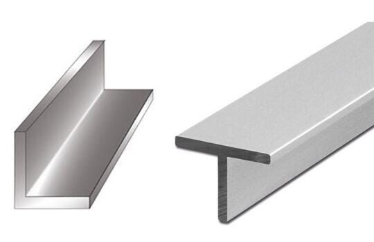 تفاوت مقاطع نبشی و سپری فولادی